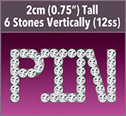 Personalized ARLENE Rhinestone Name Pin