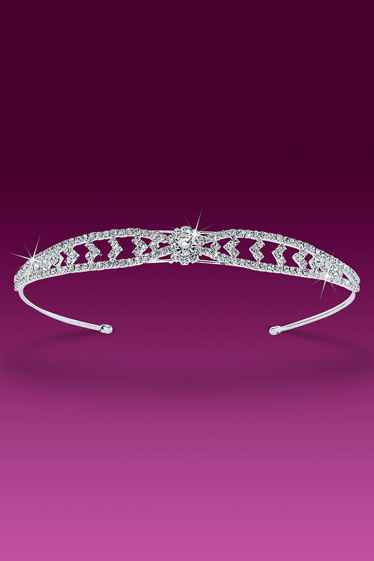 One Flower Crystal Rhinestone Headband