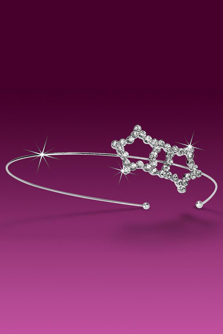 Twin Stars Crystal Rhinestone Headband