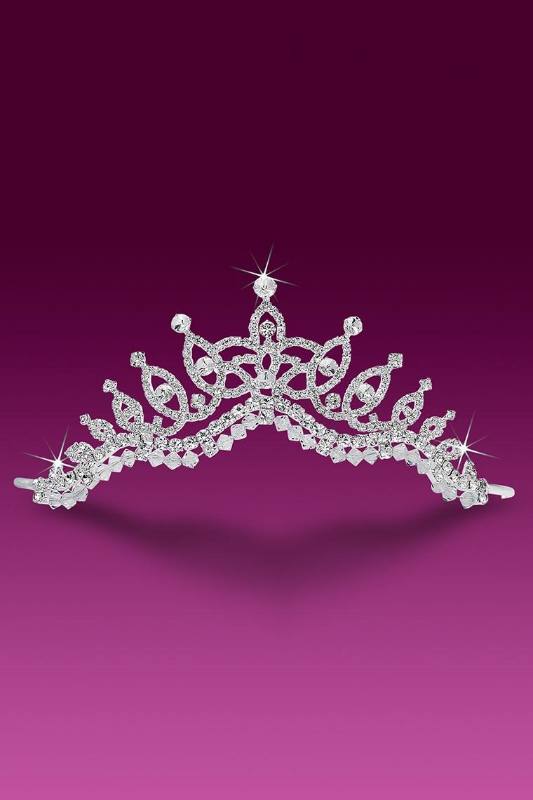 Princess Crystal Rhinestone Bridal Tiara