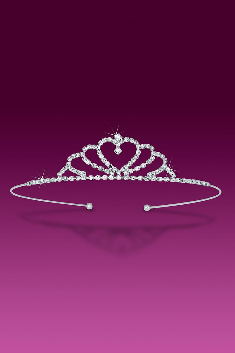 Queen of Hearts Crystal Rhinestone Tiara