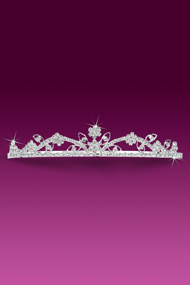 Crown Royale Crystal Rhinestone Tiara
