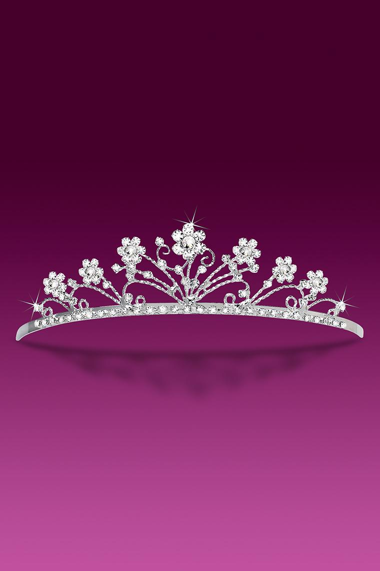Romantic Crystal Rhinestone Bridal Tiara