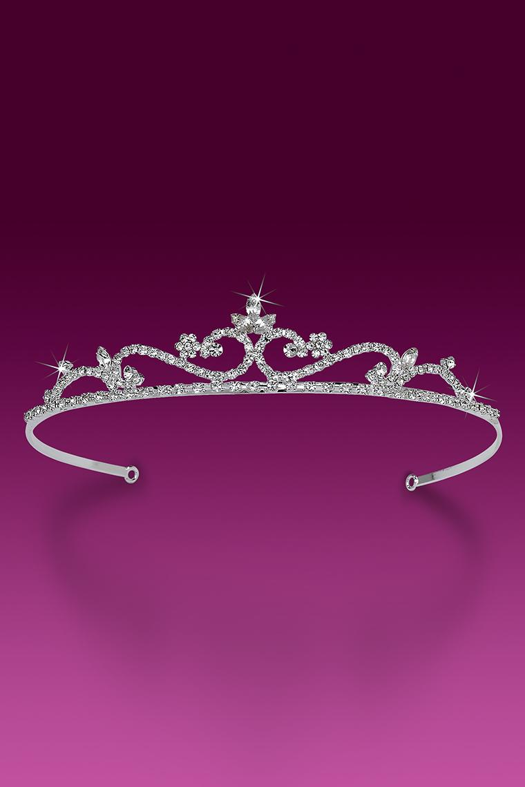 Miss Pretty Crystal Rhinestone Tiara