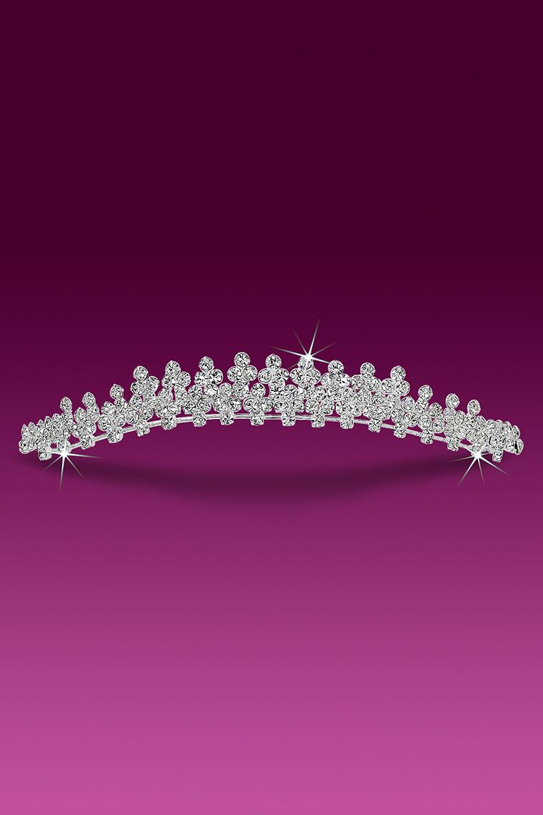 Crystal Rhinestone Wedding Band Tiara