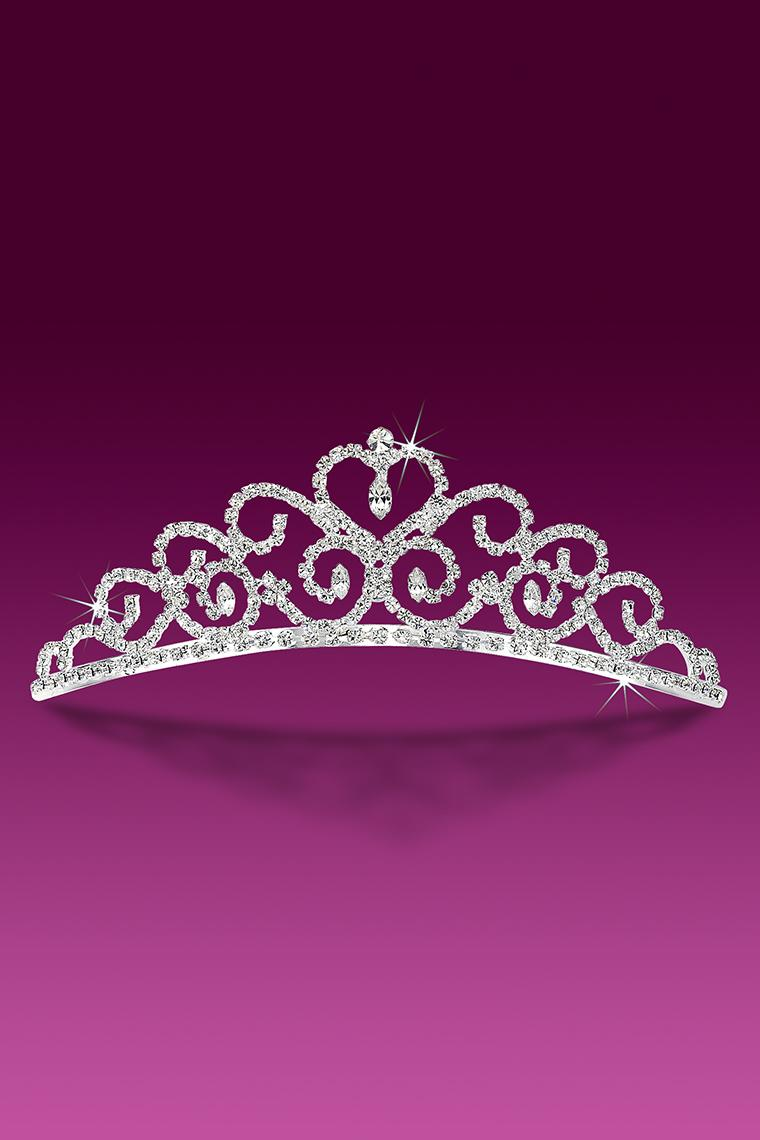 With Love Crystal Rhinestone Tiara