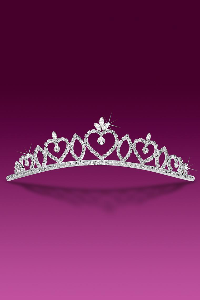 My Heart Belongs To You Crystal Rhinestone Bridal Tiara