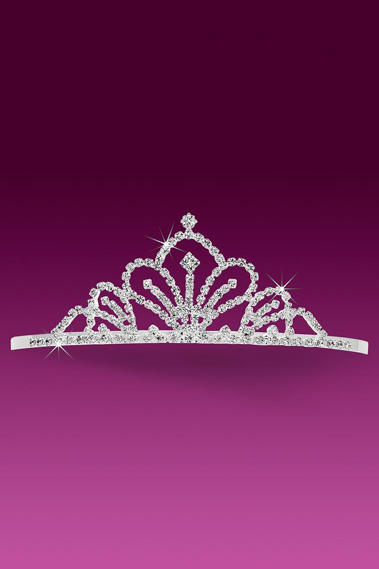 Empress Royale Crystal Rhinestone Pageant Tiara