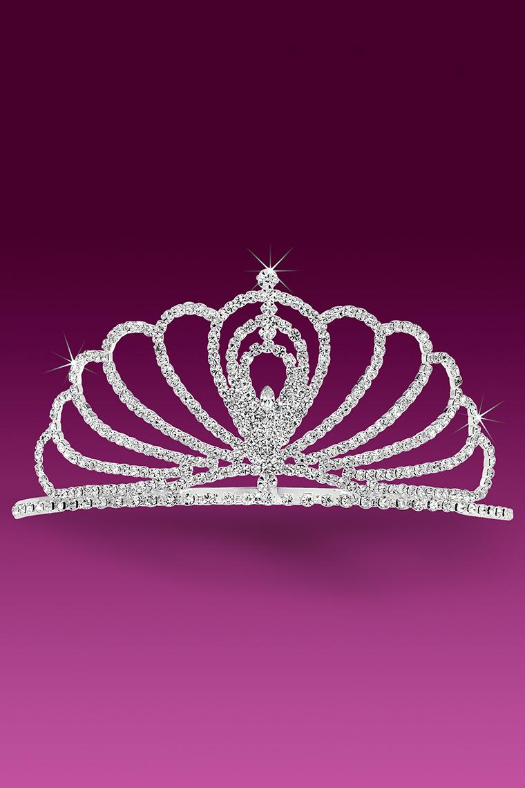 Crowning Glory Crystal Rhinestone Pageant Tiara
