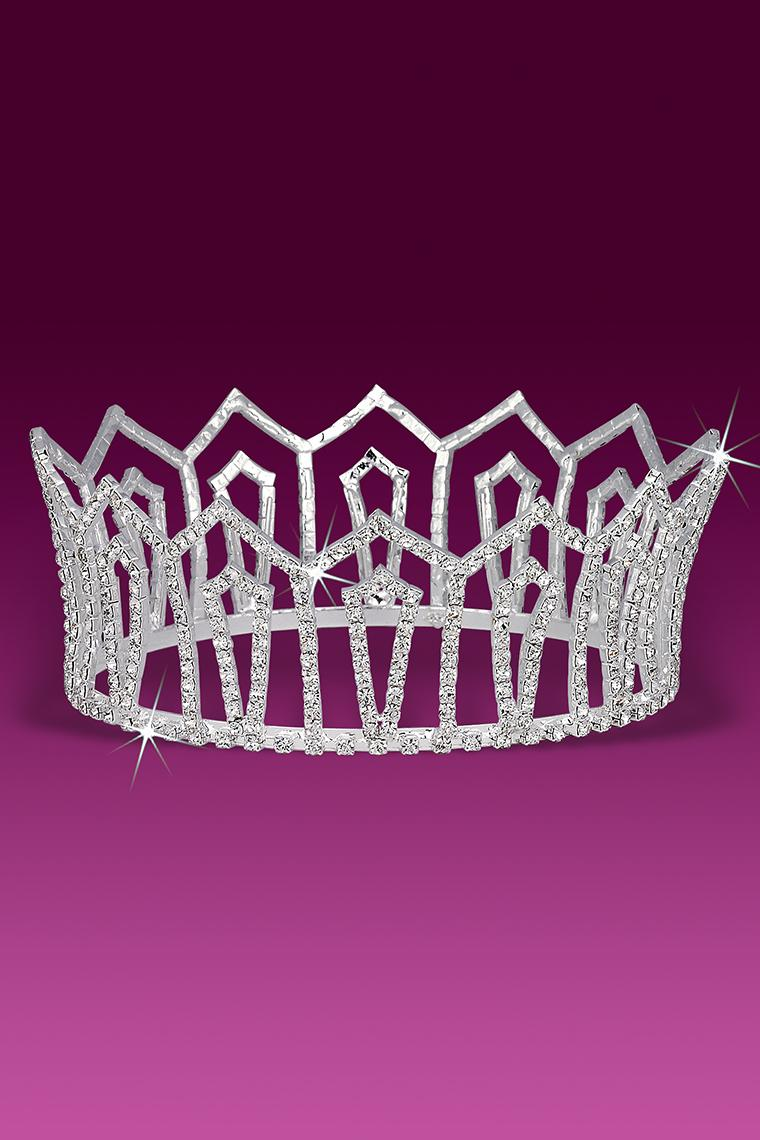 Regal Beauty Pageant Crystal Rhinestone Crown