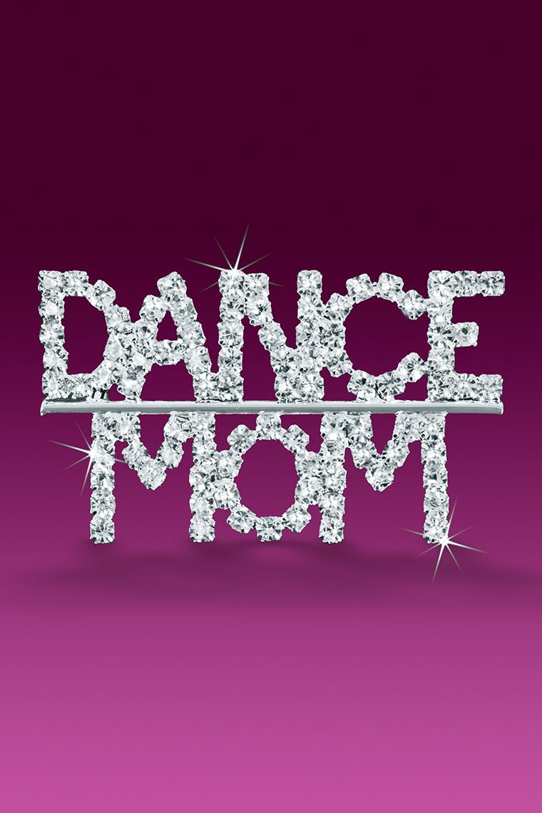 Dance Mom Rhinestone Word Pin