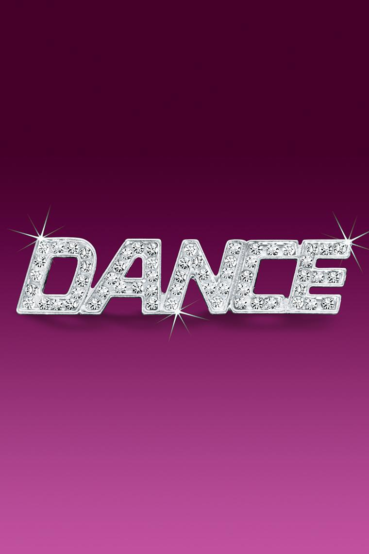 Dance Rhinestone Word Pin Casted