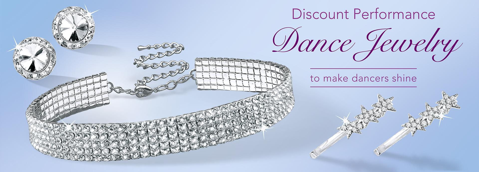 Rhinestone Dance Jewelry